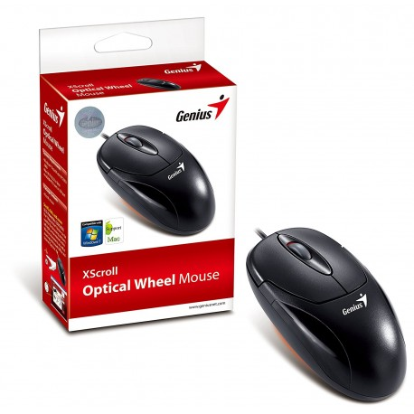 MOUSE GENIUS PS2 NEGRO